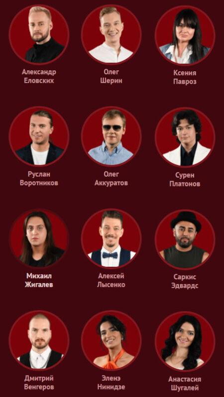 Команда Сюткина - 2020